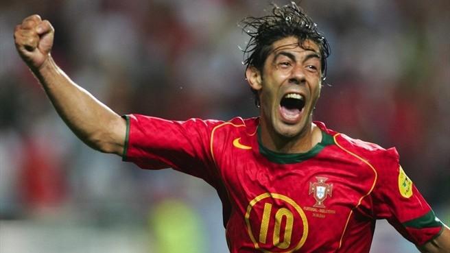 Dans quel club jouait le magicien Rui Costa entre 2006 et 2008 ?